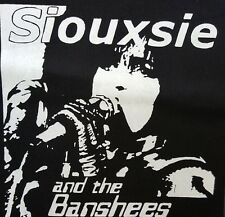 SIOUXSIE AND THE BANSHEES GOTHIC PUNK ROCK BLACK CANVAS BACK PATCH