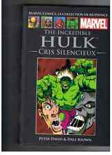 ALBUM HULK CRIS SILENCIEUX (MARVEL COMICS COLLECTION N° 61) HACHETTE 2016