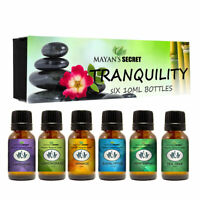 Mayan's Secret Premium Grade Essential Oils-Tranquility- Gift Set 6/10ml Pure E