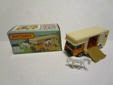 1977 MATCHBOX SUPERFAST NO.40 HORSEBOX ***NEW IN BOX***