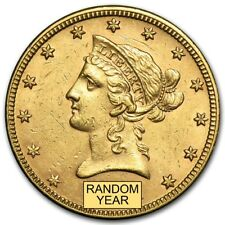 $10 Liberty Gold Eagle AU (Random Year) - SKU #155346