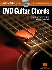 Guitar Chords - DVD Book Pack At a Glance Book with DVD NEW 000696018