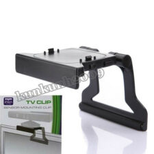 SUPPORT CLIP MURAL MUR POUR XBOX 360 Slim Kinect Sensor ECRAN TV Television NEUF