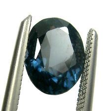 0.97 carat 7x5mm Oval A-Grade Fancy Blue Natural Australian Sapphire Gemstone