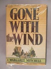 Gone With The Wind - Margaret Mitchell - 1936 - 1st Edition 14th Printing ~ w/dj