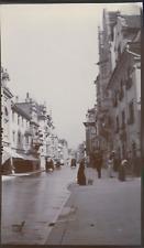 Suisse, Rorschach, rue principale, 1911, Vintage citrate print vintage citrate p