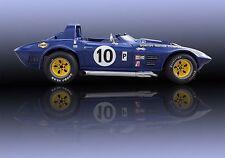 Chevrolet Chevy Corvette Grand Sport Vintage Classic Race Car Photo CA-1034