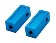 PrecisionGeek Blue replacement for Tamiya 53596 Aluminum Servo Stays (Short)