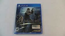 Resident Evil 4 HD  PS4 - Brand New Factory Sealed