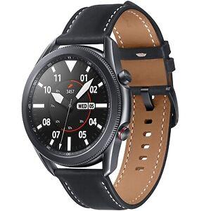 Samsung Galaxy Watch 3 LTE 45mm SM-R845 Smartwatch Schwarz + Leather Band