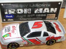 TERRY LABONTE # 5 IRON MAN ACTION DIECAST BANK 1:24 - 1996 MONTE CARLO RACE CAR