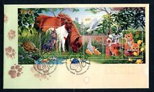 1996 Pets (Mini Sheet) Fdc - Canberra Act Pictorial Pmk