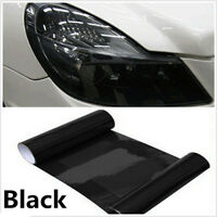 DARK Smoke Black 30cm x 100cm Tint Film Headlights,Tail lights Car Vinyl Wrap