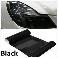 Universal Dark Black Car Headlight Taillight Tint Vinyl Wrap Film Sheet Sticker