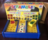 Scramble Shape Sorting Board Game with a Twist Race to Match The Shapes