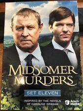 Midsomer Murders - Set 11 (DVD, 2008, 4-Disc Set)