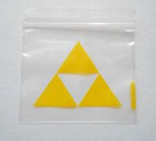 100 (Yellow Tri-Force Zelda) 2x2 Small Poly Ziplock Baggies, 2020 Mini Dime Bags