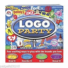 Spin Master Logo Party Family Game Game Board #20060227