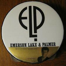 ELP Band PIN LOT 6 Concert Tour BUTTONS Rare Keith Emerson Carl Palmer Greg Lake