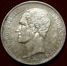 BELGIQUE / BELGIUM **** 5 Francs Leopold Premier  1851 **** SUP+ TOP QUALITÉ