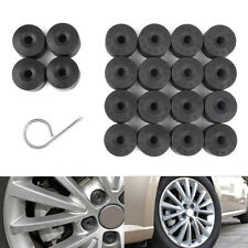 20x Lug Nuts Bolt Cover Caps Set Free Dismantle Tools For Vw Volkswagen Wheels