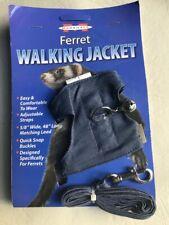 Walking Jacket Harness & Leash set for Ferret