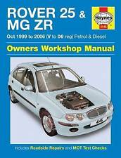 Rover 25 & MG ZR Owners Workshop Manual by Haynes Publishing Group (Paperback, 2015)