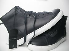 Dark Navy G-Star Raw Men's Zlov Mid High-Top Sneakers Shoes Size US 8