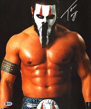 Tama Tonga Signed 11x14 Photo BAS COA New Japan Pro Wrestling Bullet Club NJPW 6