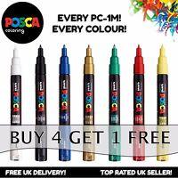 Posca Pittura Evidenziatori PC-1M - Intera Gamma Di 21 Colori - Acquista 4,Pay 3