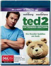 """TED 2: Extended Edition"" Blu-ray + Digital UV - Region Free [A,B,C] NEW"