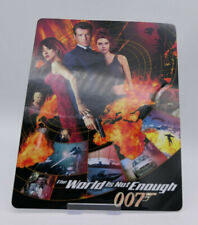 007 WORLD IS NOT ENOUGH - Glossy Bluray Steelbook Magnet Cover (NOT LENTICULAR)