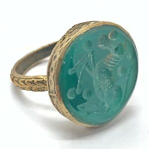 Antique Islamic Intaglio Ring - Post Medieval Ottoman Empire Style Middle East H