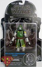 "CLONE COMMANDER DOOM Star Wars The Black Series 3 3/4"" inch Figure #13 2015"