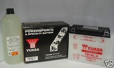 BATTERIE YUASA YB18L-A MOTO MORINI 350 NEW YORK ANNÉE JUSQU'À 1990