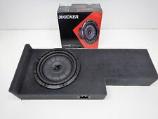 Subwoofer box Fits 2005 to 2015 Nissan Frontier Crewcab sub enclosure speaker