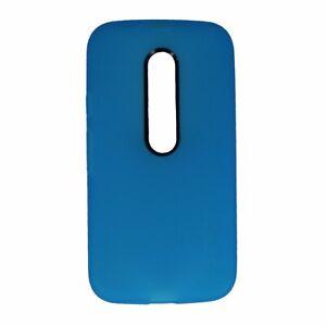 Incipio NGP Series Flexible Gel Case for Motorola Moto G 3rd Gen - Cyan Blue