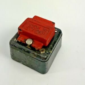 Vintage Crabtree Push To Stop Emergency Stop Switch