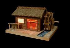 Woody JOE Wooden Model Kit Light Series No.4 Water Mill Laser Cut Parts Best Buy