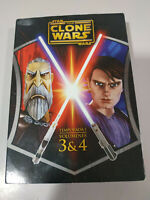 Star Wars The Clone Wars Temporada 1 Volumenes 3&4 Serie TV - 2 x DVD