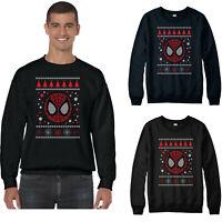 Spiderman Christmas Jumper, Superhero Avengers Marvel Comics Festive Gift Xmas