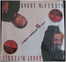 Bobby McFerrin, Don't worry, Be happy, VG+/VG+ , Maxi Single  EP (6281)