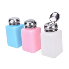 Empty Pump Dispenser Container Nail Art Polish Acrylic Liquid Bottle 200ML AU