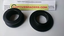 BMW S1000RR  CAPTIVE WHEEL SPACERS.   2012 -  BLACK