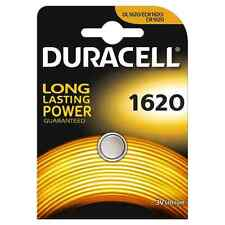 Pila DURACELL CR1620 Batteria  Litio 3V Pulsante  BATTERIE DL1620 ECR1620 1620