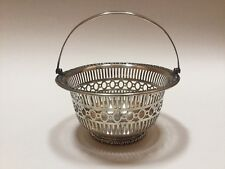 Bailey Banks & Biddle Sterling Silver Reticulated Pierced Basket - Excellent