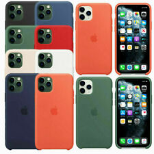 Silicone Cover For Apple iPhone 11 Pro Max Luxury Silicone Phone Back Cover Case
