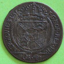 SUISSE 4 KREUZER  1793 CANT. DE NEUCHÂTEL