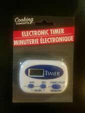 Electronic Timer with replaceable AG3/LR41 5V battery