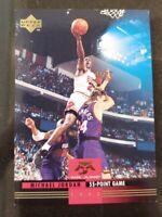🏀👀1993-94 Upper Deck Michael Jordan Bulls NM Mr June 55 Point Game MJ 7🏀💥